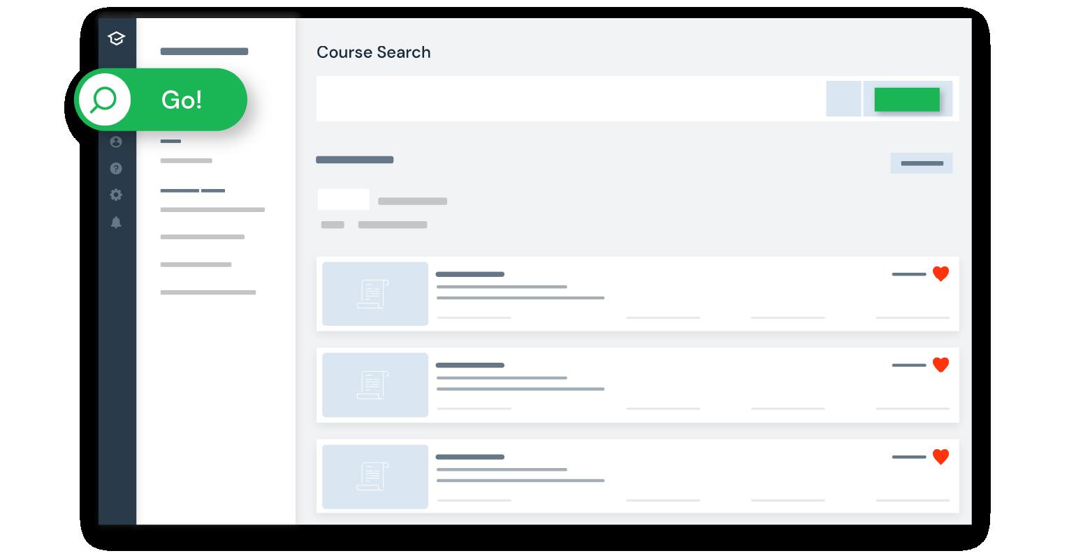 Adventusio-new-course-search-faster