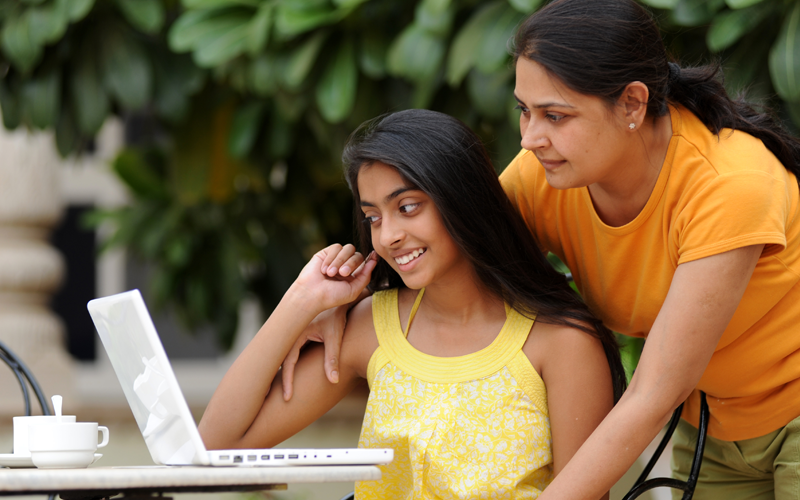 Indian family makes study decisions together